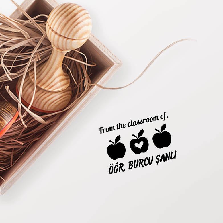 3 Elmalı Öğretmen Mührü