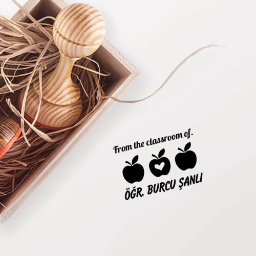 - 3 Elmalı Öğretmen Mührü (KM-0825)