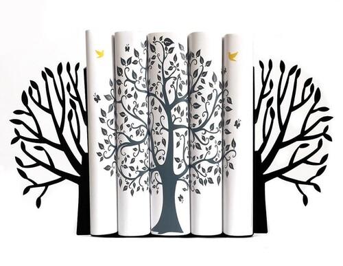 - Ağaç Kitap Tutucu