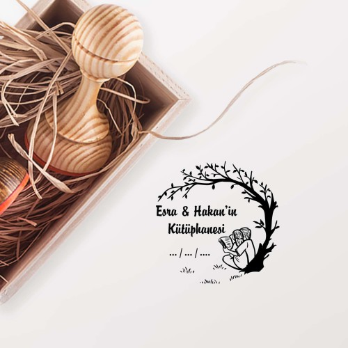 - Ağacın Altındaki Çift Mührü - Sevgili Mührü - Mühürce