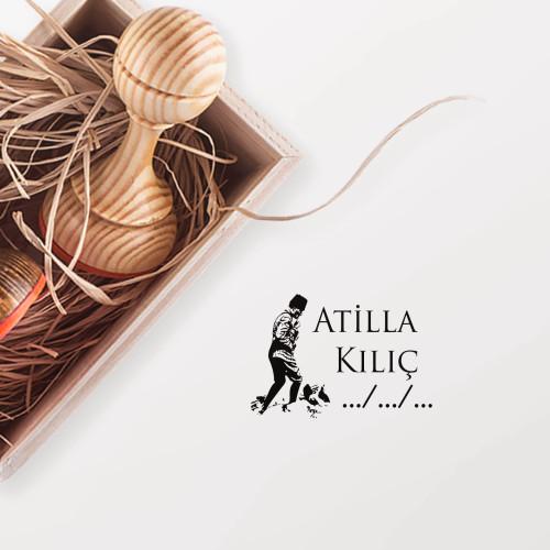 - Atatürk -3 Mührü (KM-0670)