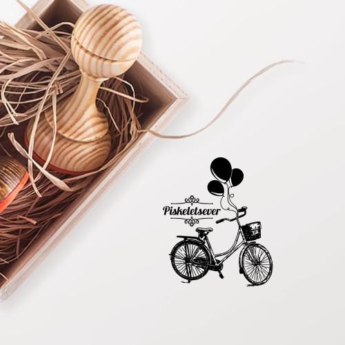 - Balonlu Bisiklet Mührü (KM-0341)