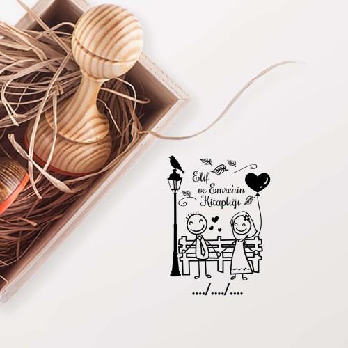 - Bankta Mutlu Çift Mührü (KM-0523)