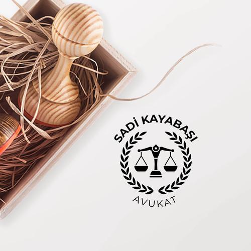 - Başak Çerçeveli Avukat Mührü