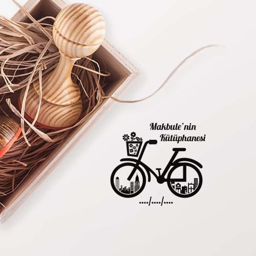 Bisiklet Mührü (KM-0061) - Thumbnail