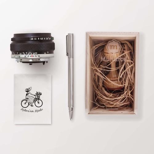 Bisiklet Süren Kız Mührü (KM-0366) - Thumbnail