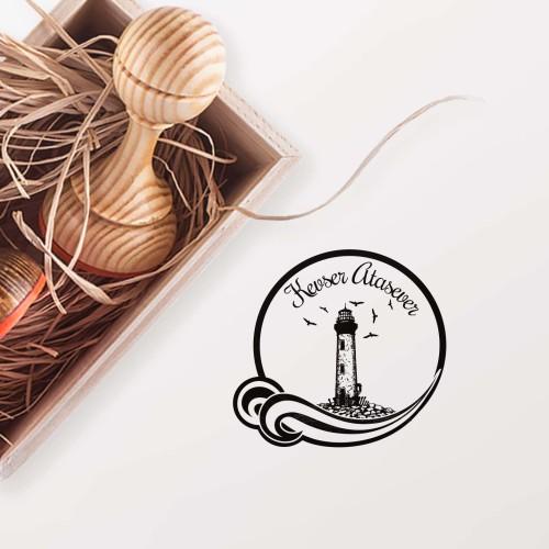 - Çerçeveli Deniz Feneri Mührü (KM-0150)