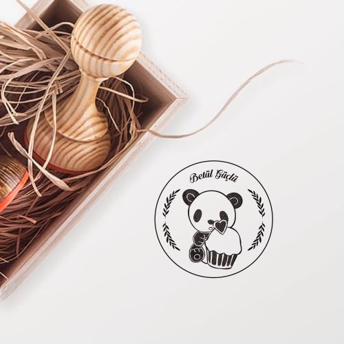 - Cup Kek Seven Panda Mührü (KM-0673)