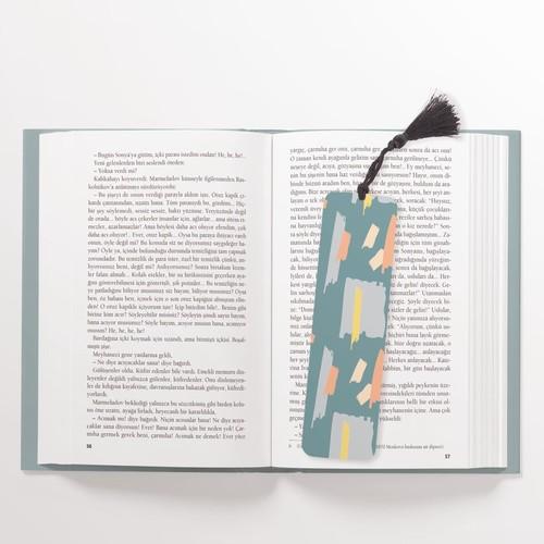 Desenli Kitap Ayracı - Thumbnail