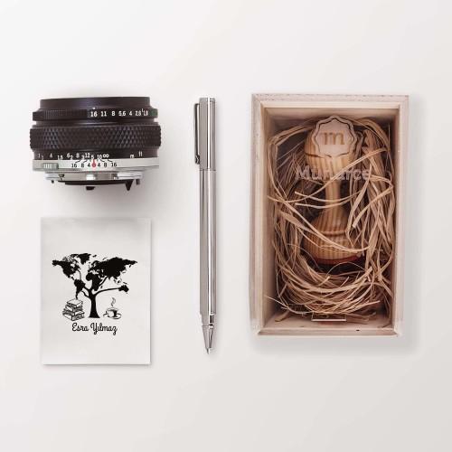 Dünya Ağacı, Kitap ve Kahve Mührü (KM-0220) - Thumbnail