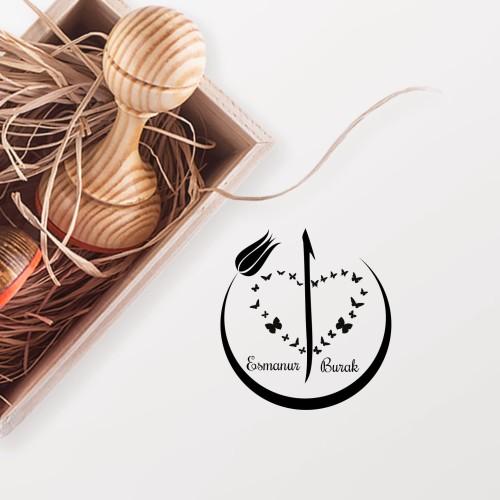 - Elif ve Kelebekler Mührü (KM-0614)
