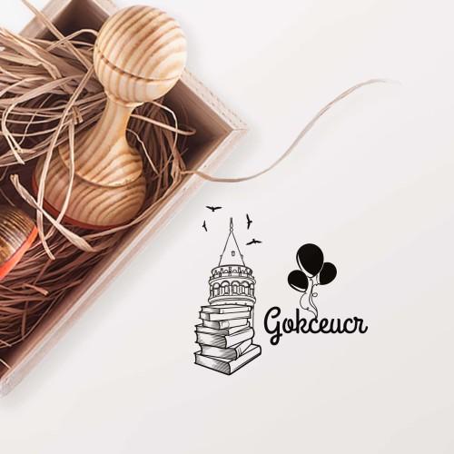 - Galata da Balonlar Mührü (KM-0261)
