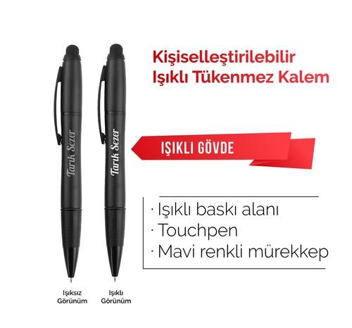 - Işıklı Kişileştirilebilir Kalem
