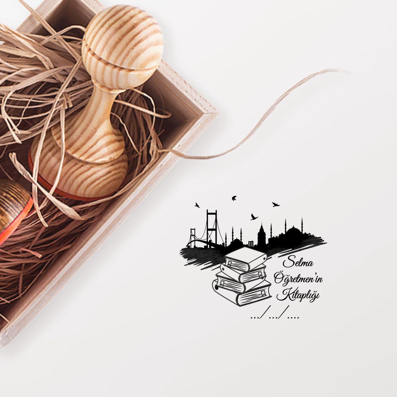 İstanbul ve Kitaplar Mührü (KM-0620)