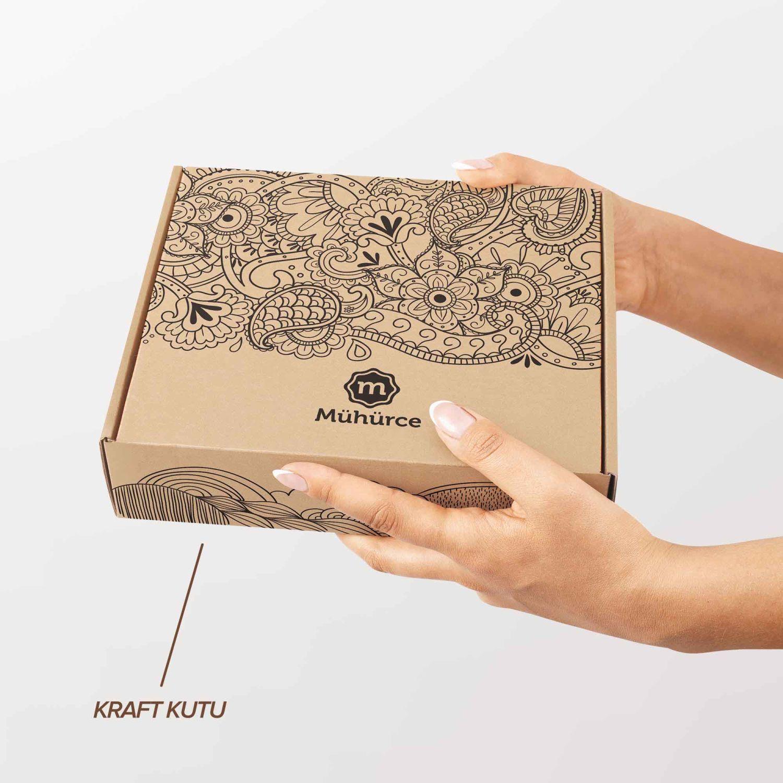 Kahve,Bavul, Fotoğraf Makinası Mührü (KM-0032)