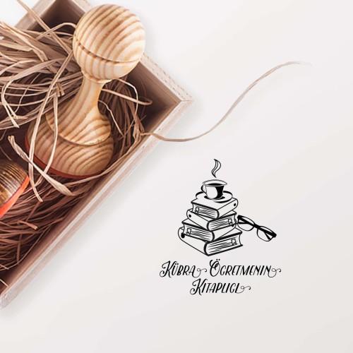 - Kahveseverin Kitaplığı Mührü