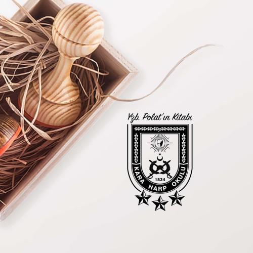 - Kara Harp Okulu Logolu Mühür (KM-0047)