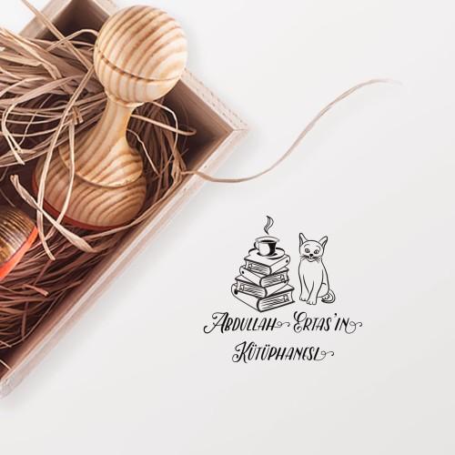 - Kedili Kitaplar Mührü (KM-0354)