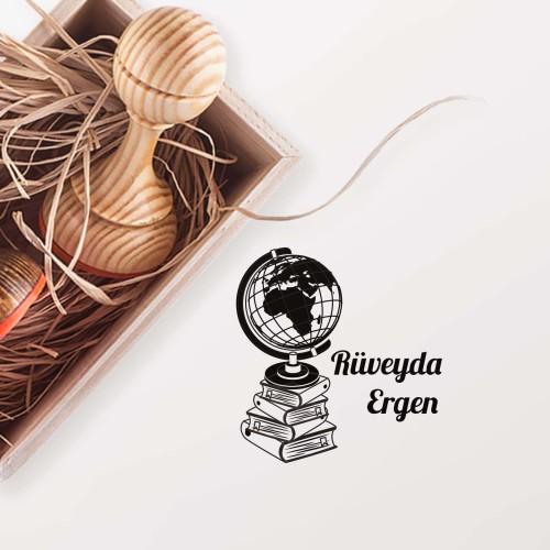 - Kitap Üzerinde Dünya Mührü (KM-0062)