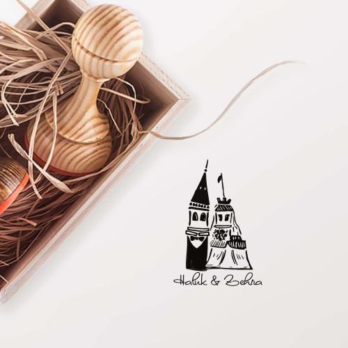 - Kız Kulesi ve Galata Mührü (KM-0413)