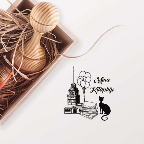 - Kız Kulesinde Balonlar Mührü (KM-0444)