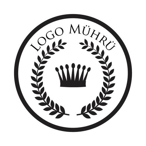- Logo Mührü Ahşap Mühür