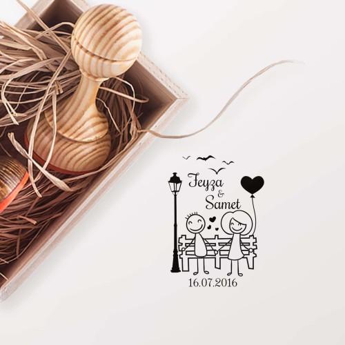 - Mutlu Sevgililer Mührü (KM-0144)