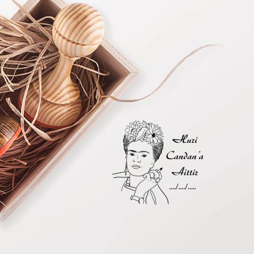 - Frida Kahlo Mührü (KM-0931)