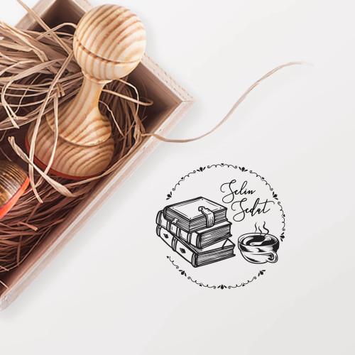 - Çay Keyfi ve Kitaplar (KM-0950)