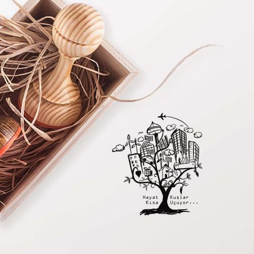 - Şehirden Ağaç Mührü(KM-0269)