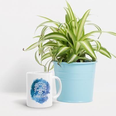 Tasarımın Kupa Bardağı (Mavi)