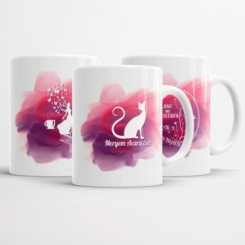 - Tasarımın Kupa Bardağı (Pembe)